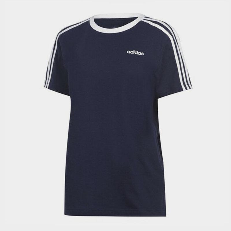 Essentials 3 Stripe T-Shirt Ladies