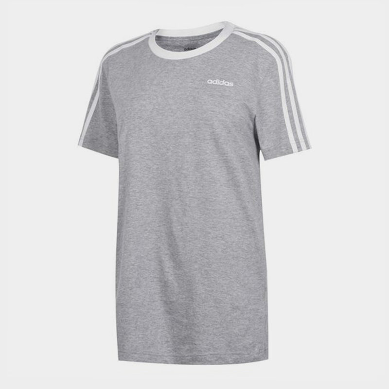 Essentials 3 Stripe T-Shirt Ladies