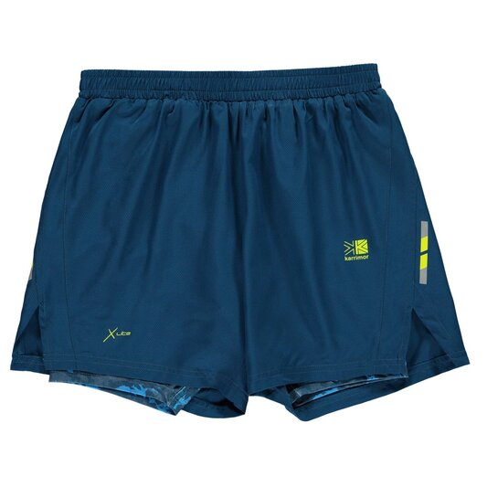 X 2 in 1 Running Shorts Junior Boys