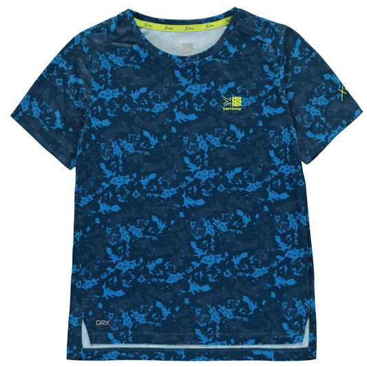 X Race Short Sleeve T Shirt Junior Boys
