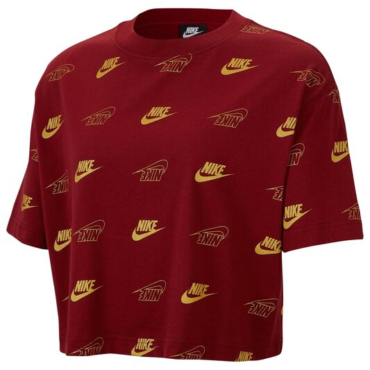 Shine Crop T Shirt Ladies