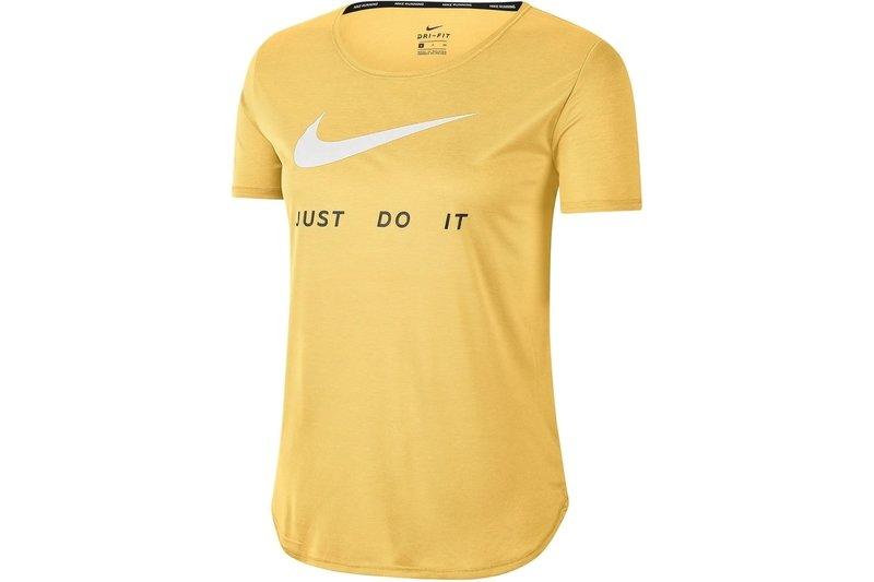 Swoosh Run Short Sleeve T Shirt Ladies