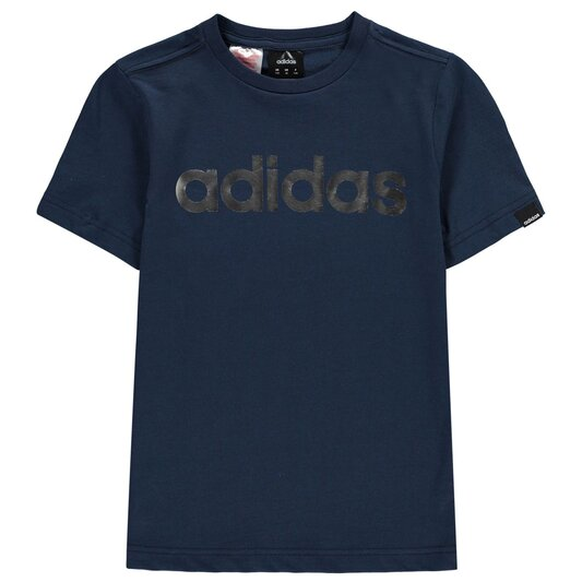 Linear Foil T Shirt Junior Boys