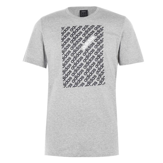 Linear Camo Box Mens T Shirt