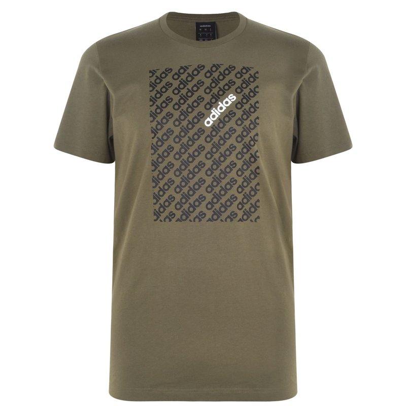 Linear Camo Box Mens T Shirt