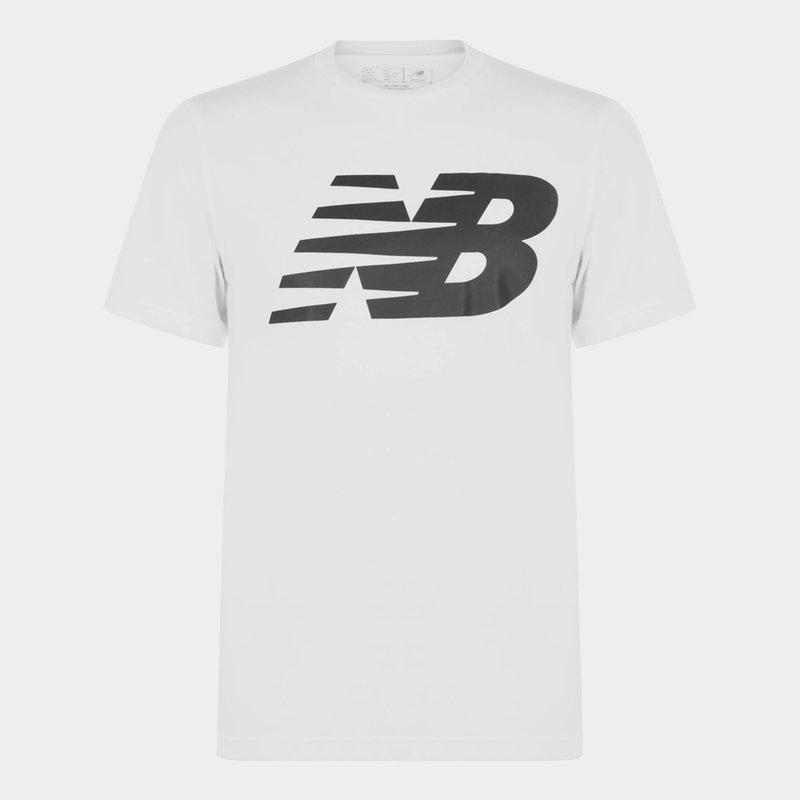 Logo Graphic QT T Shirt Mens