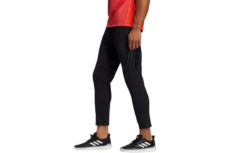 Mens Aeroknit 3 Stripes Track Pants