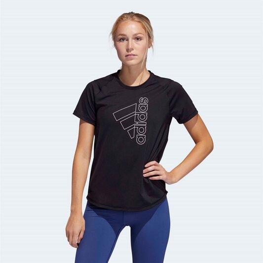 Womens Tech Badge Of Sport T Shirt