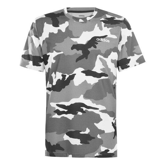 Mens Training Allover Printed T Shirt
