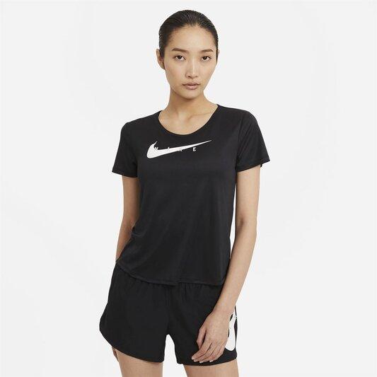 Swoosh Run Womens Short Sleeve Running Top