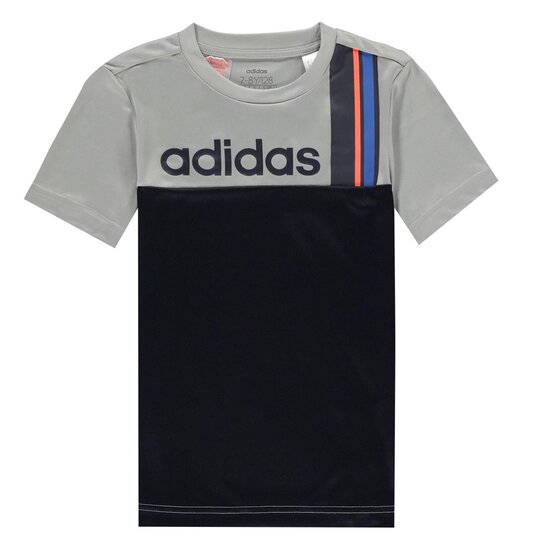 Stripe T Shirt Junior Boys