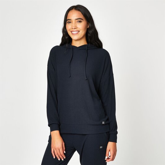 Pro Ribbed Slouchy Hoodie