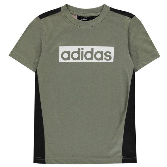 Climalite Box Logo T Shirt Junior Boys