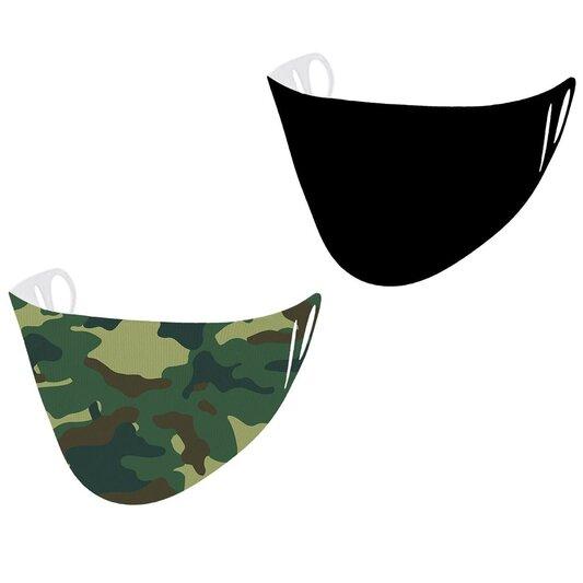 2 Pack Scuba Face Mask