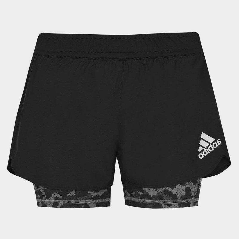2in1 LadiesRunning Shorts