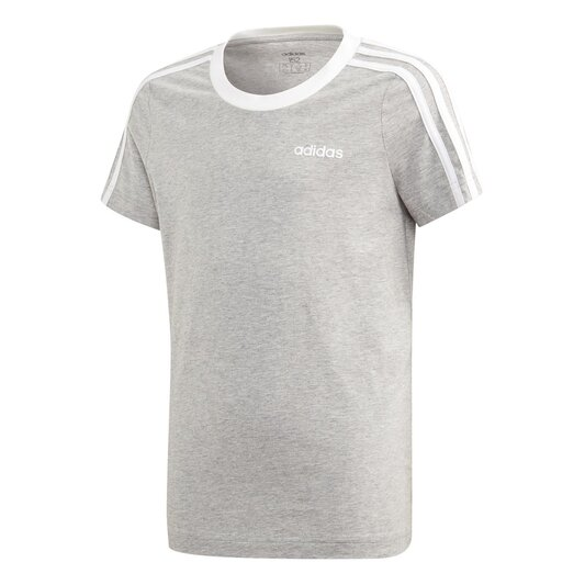 3 Stripe T Shirt Junior Girls