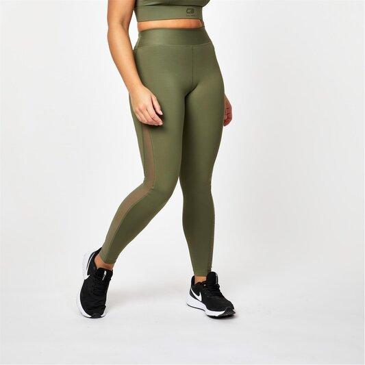 X Courtney Black Sports Fearless Leggings