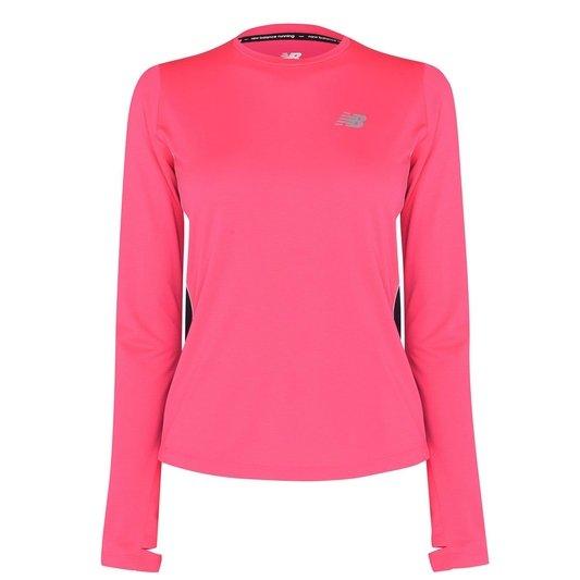 Accelerate Long Sleeve Running T Shirt Womens