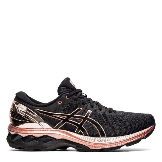 Gel Kayano 27 Platinum Running Shoes Ladies