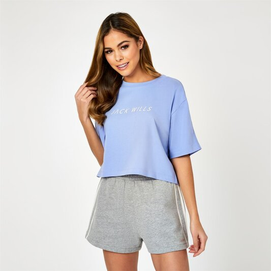 Active Cropped Logo T Shirt