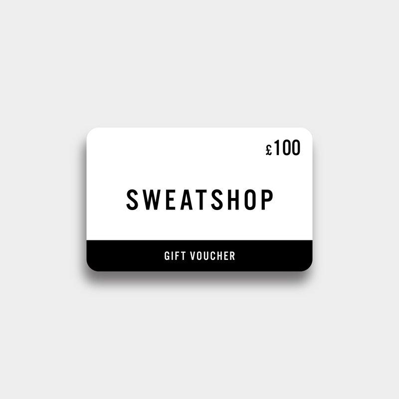 Sweatshop £100 Virtual Gift Voucher