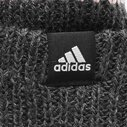 Fleece Three Stripe Bobble Hat Ladies
