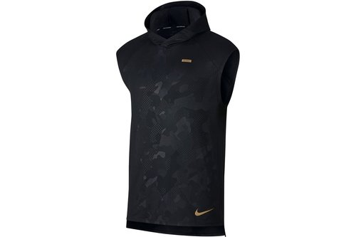 free shipping ea847 7d4c6 Element Sleeveless Running Hoodie Mens