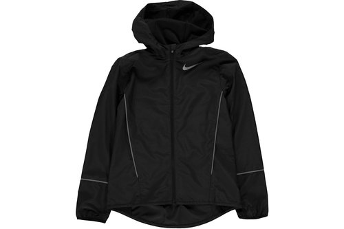 Hooded Running Jacket Junior Girls